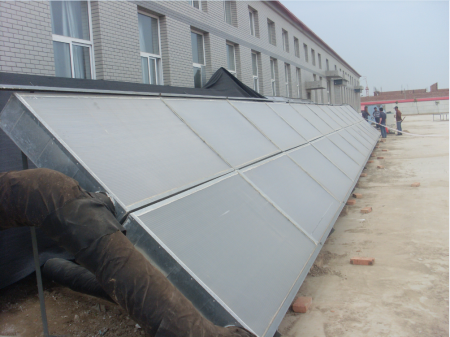 太阳能空气集热器烘干