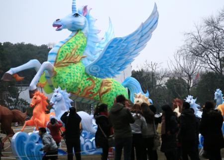 节庆民俗灯会