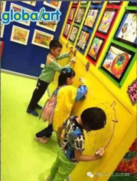 创意幼儿园墙面漆