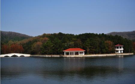武汉九真山景区图片