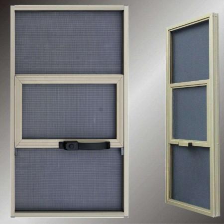 山东三格式金刚网纱窗图片