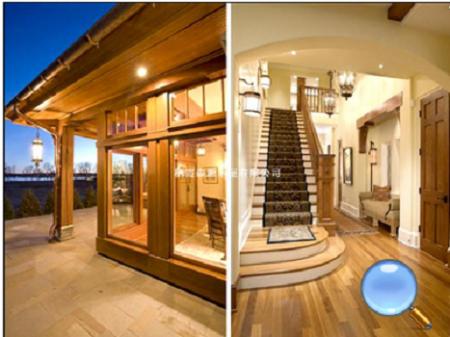 欧式风格木屋别墅