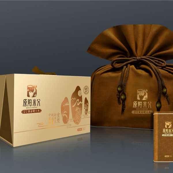 大米塑料包装袋设计