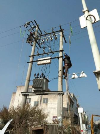 贵阳清镇市10kV水条线1#变变压器增容工程