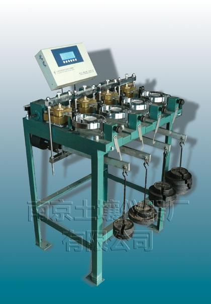 ����9�.XˮZJ~��[{NK��xi�Z[>h ~K�N�xn�)_zj四联应变控制式直剪仪用于测定土的抗剪强度,通常采用四个试件在不