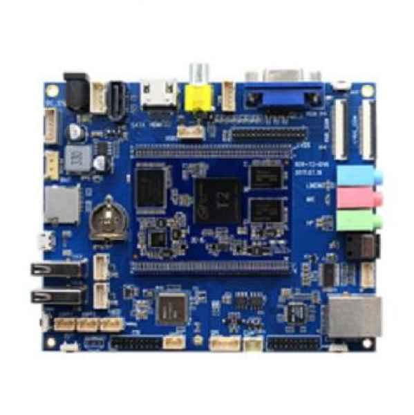 arm嵌入式双核全志T2开发板2片16位DDR3,组成1GBtyes容量的内存标配8GByteseMMCFlash支持24位RGB和单8/双8-LVDS信号,最大显示分辨率:1920X1080,支持各种类型尺寸的屏:3.5~21.5寸提供一组RGB接口(带电容触摸屏),一组单8-LVDS接口(带电容触摸屏),一组标准双8-LVDS接口带背光电源接口)HDMIv1.