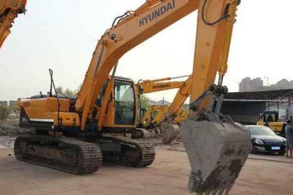 江苏现代275大型挖掘机厂家直销