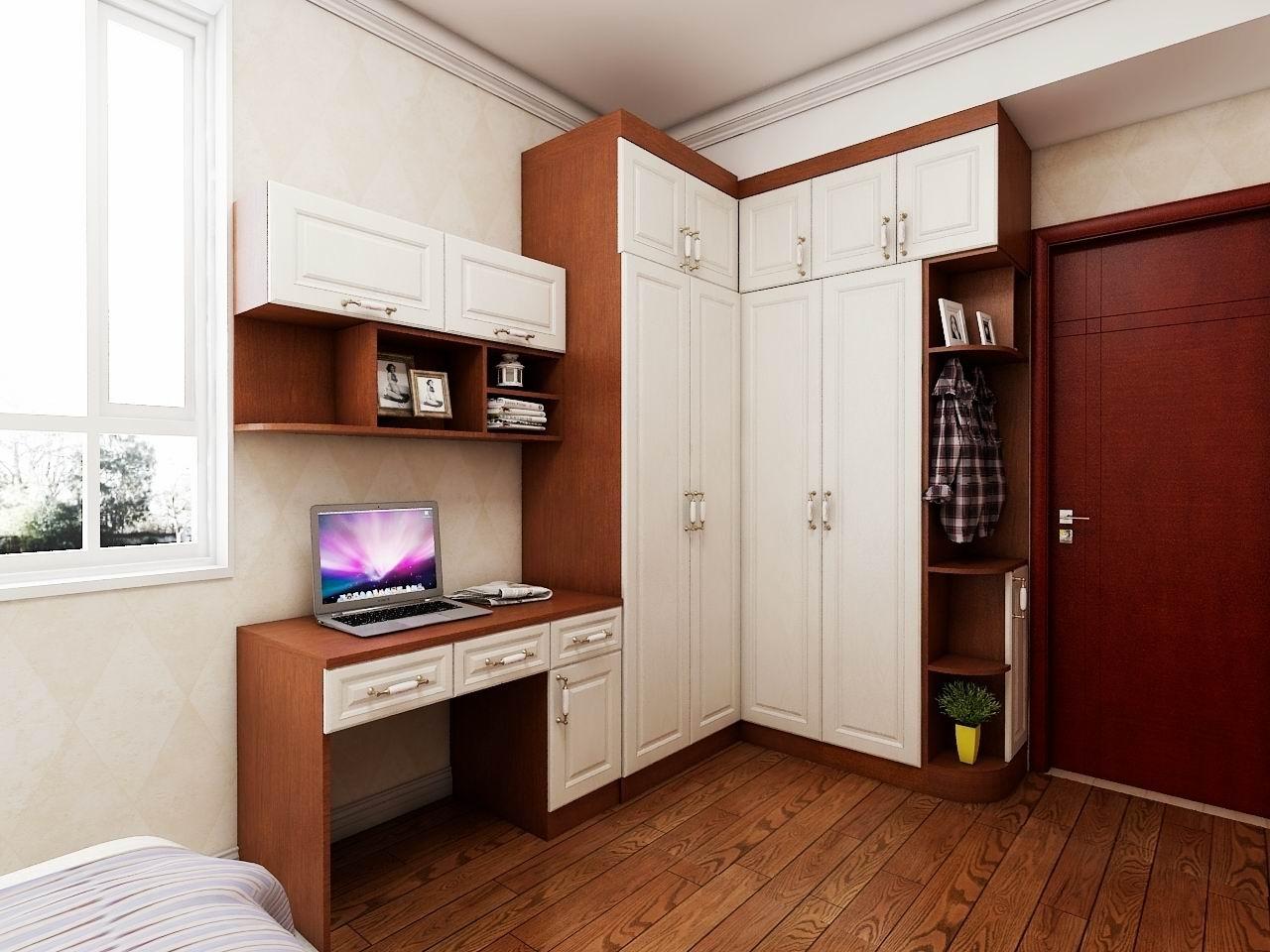 卧室衣柜书柜
