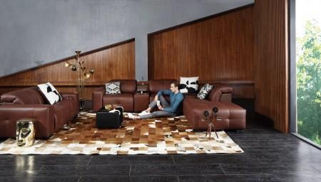 PA161CS智+系列智能皮沙发