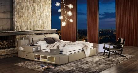 智能五星睡眠系列XLB-145皮床