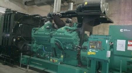 大型发电机设备维修