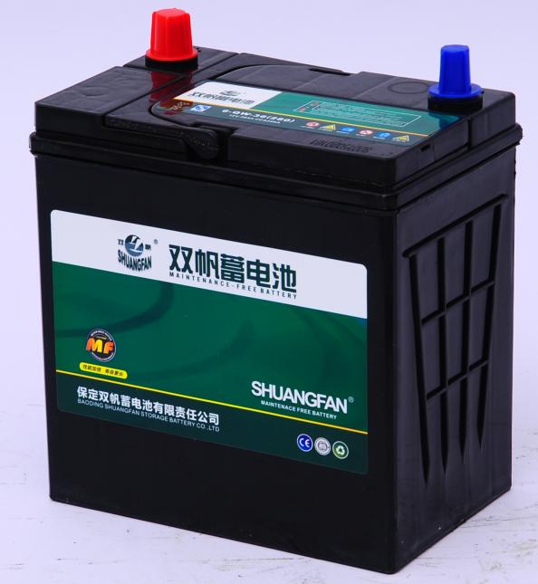 双帆汽车用密闭高容量免维护蓄电池