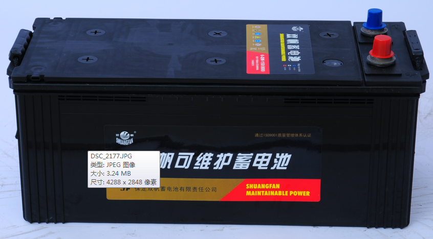 145G51双帆免维护蓄电池
