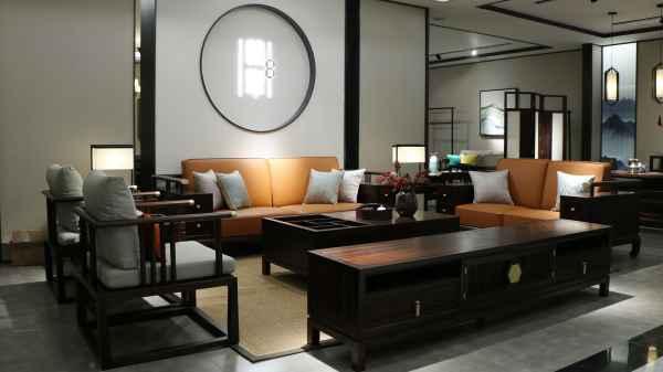黑檀木书房家具