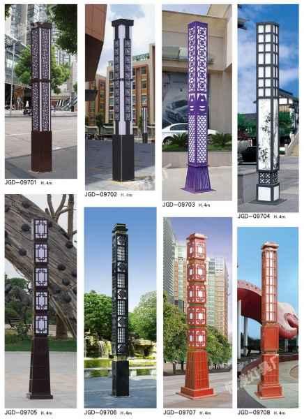 河北公园安装景观灯价格