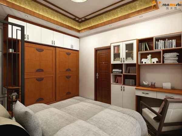 首页 佛山市然木饰家具设计有限公司 新中式风格卧室衣柜   > 产品