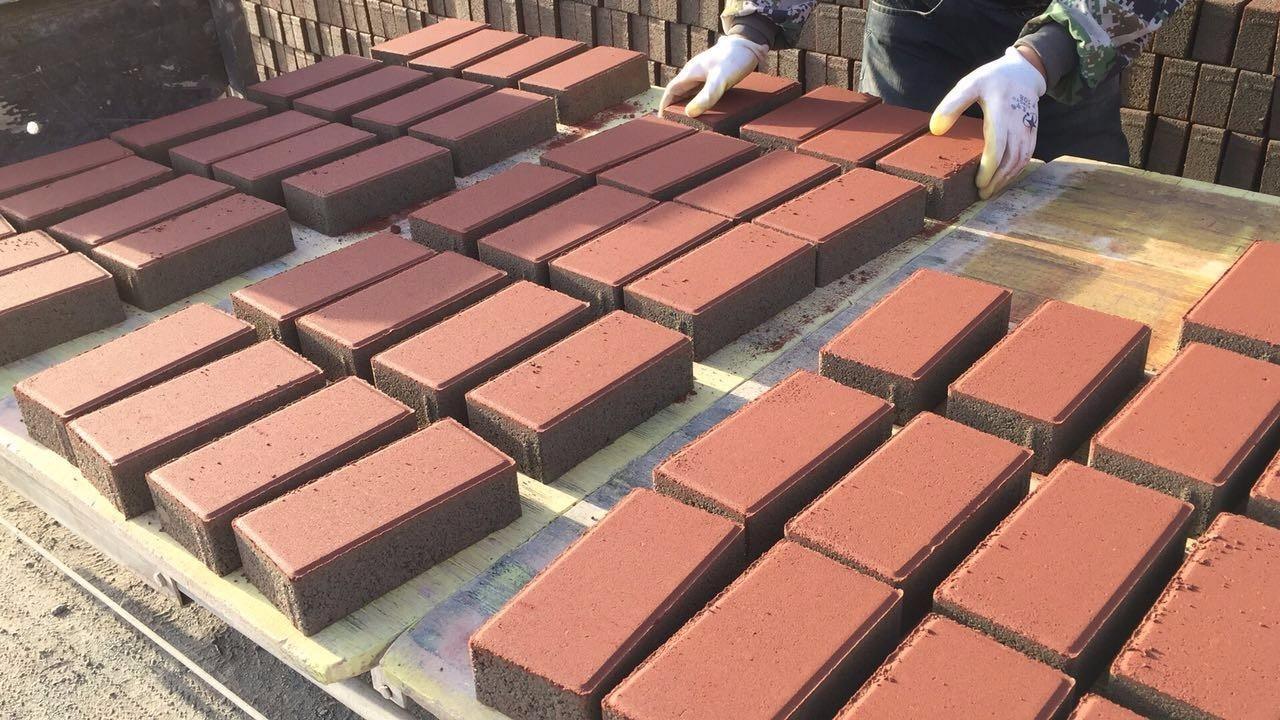 草坪砖彩砖铺路销售