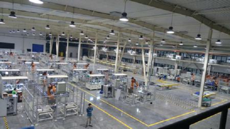 机器人自动化集成智能产线