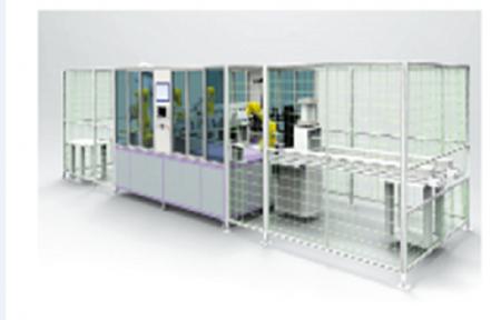 圆柱电芯智能生产线