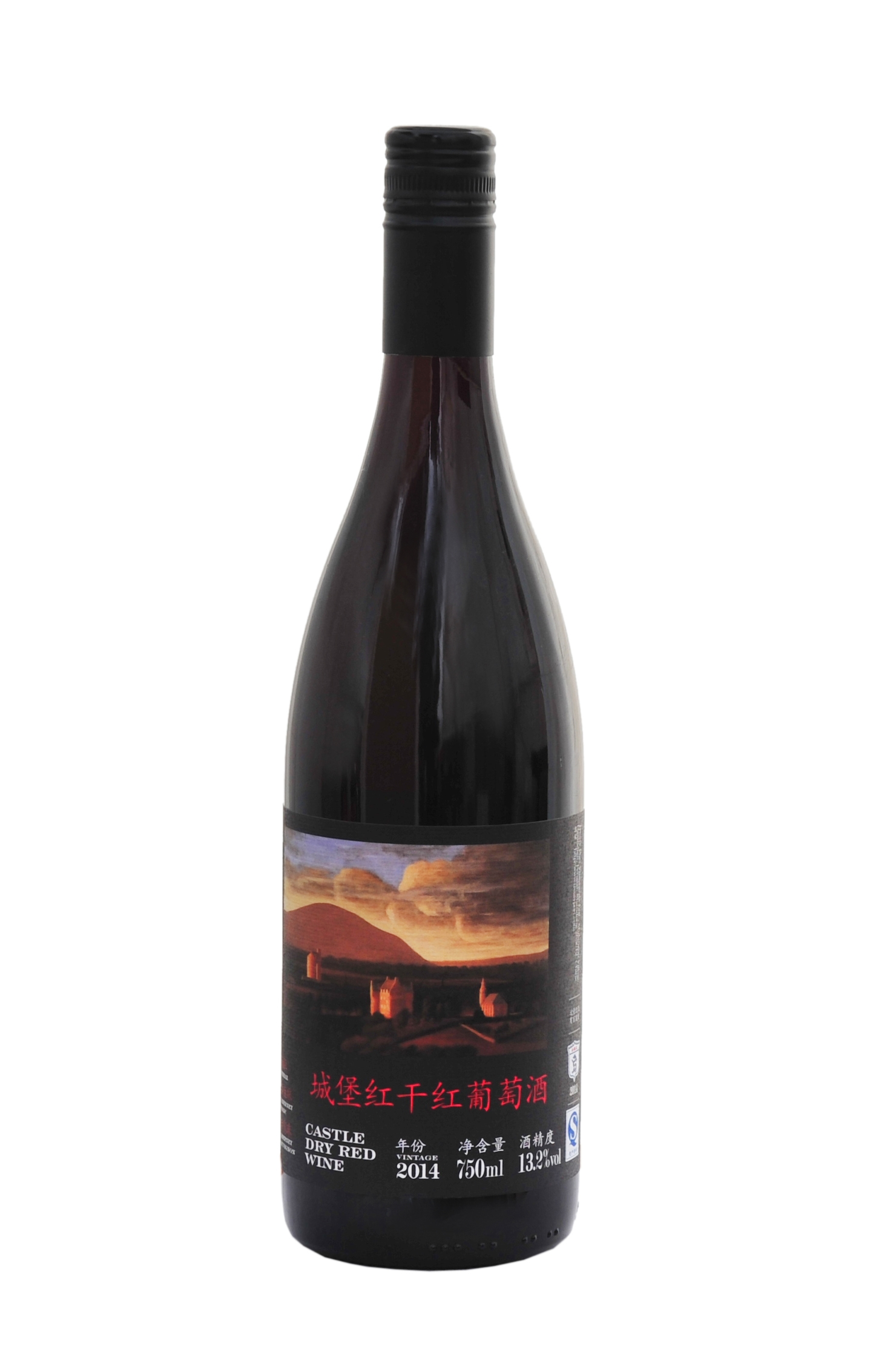 城堡红干红葡萄酒