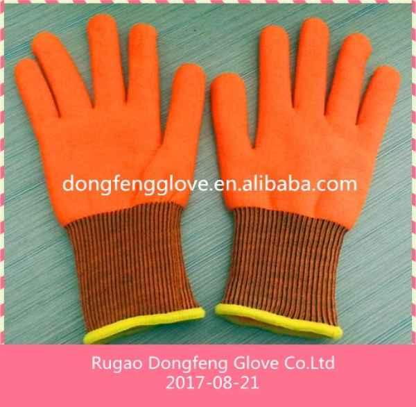 超保暖双层毛圈拉绒手套