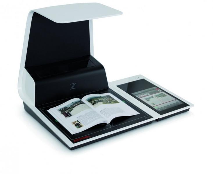 自助式书刊扫描仪