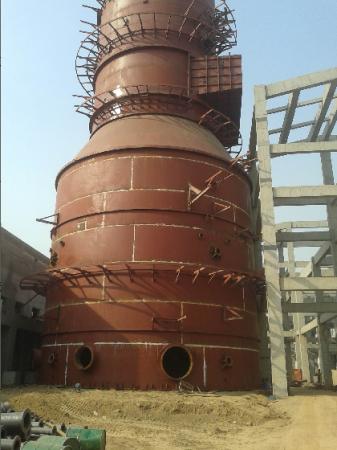 湿法脱硫塔生产