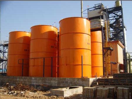 酸再生系统衬胶贮罐