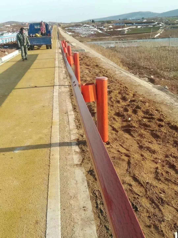 双波镀锌护栏板