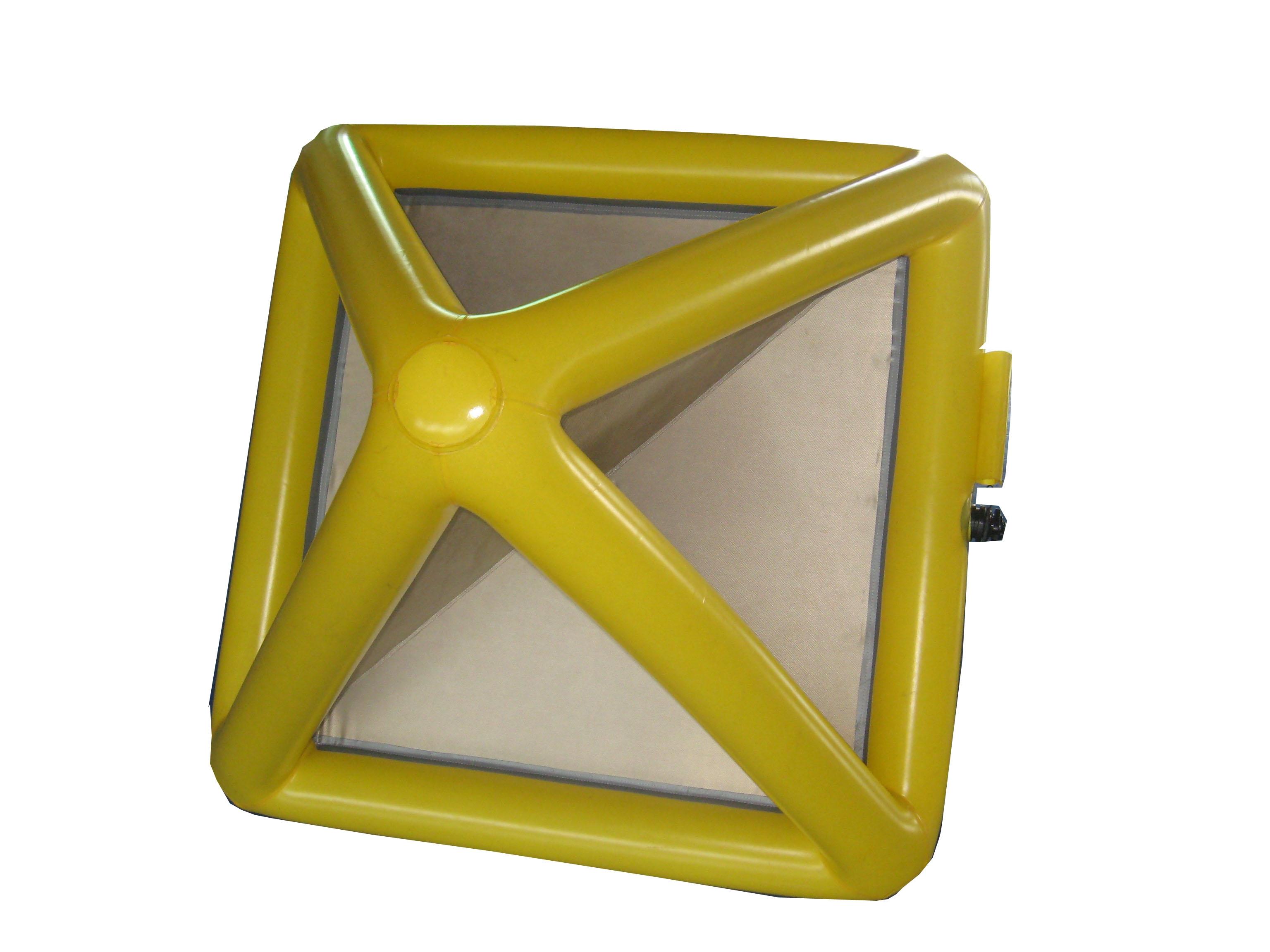 充气式角反射器