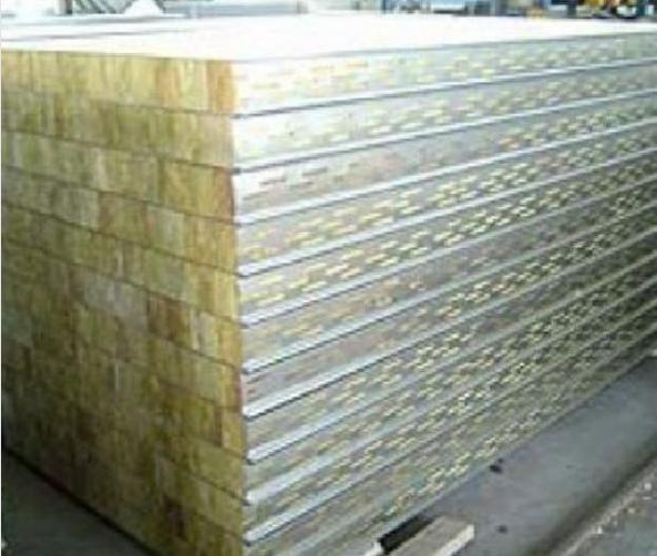 彩钢岩棉夹芯板