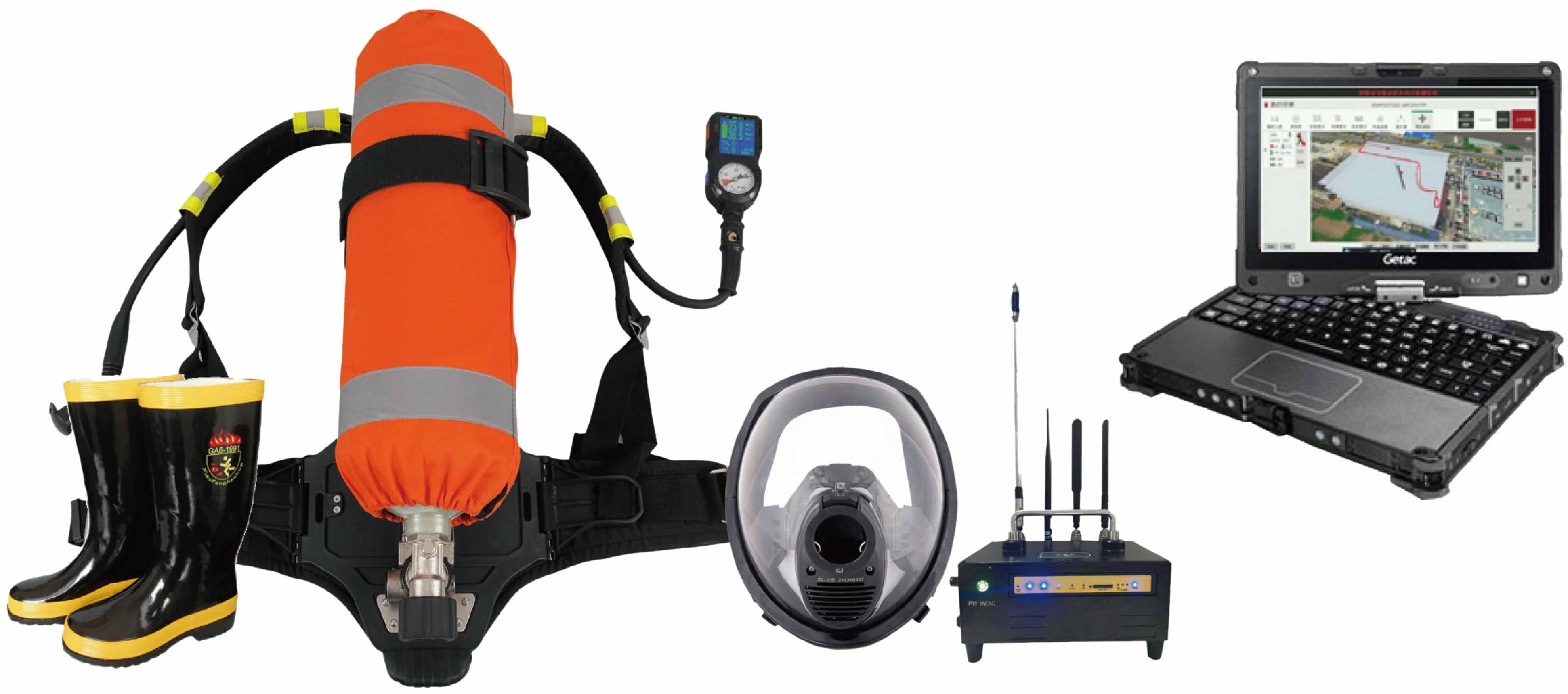 消防员单兵定位监测系统