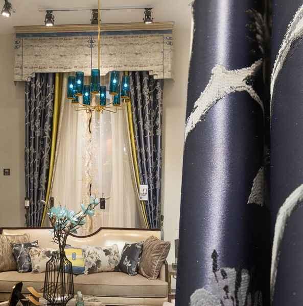 一米法式窗帘