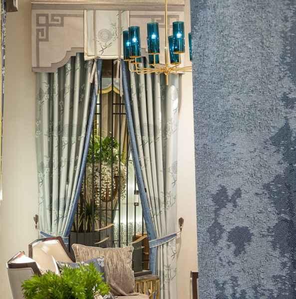 一米中式窗帘