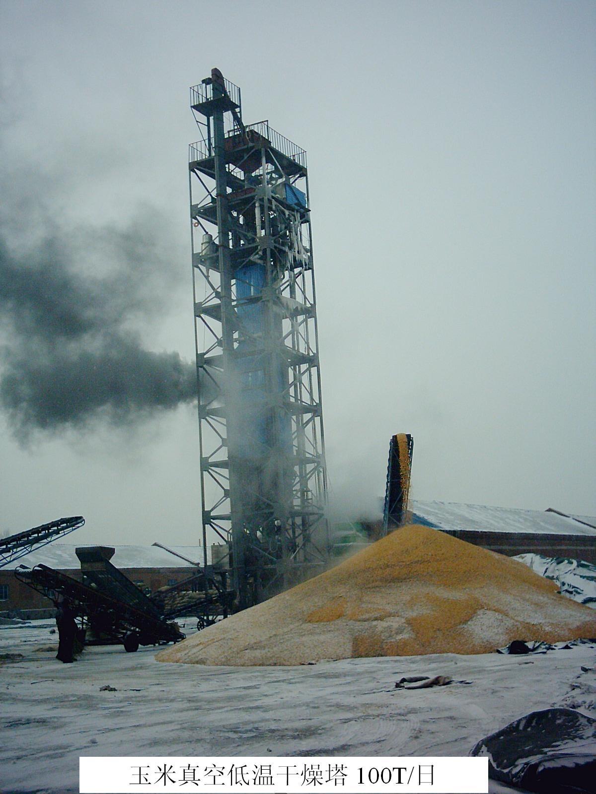 玉米真空低温干燥机