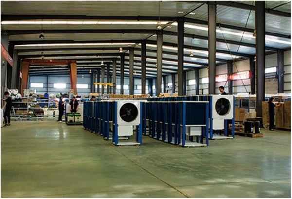 污水源回收低温热泵
