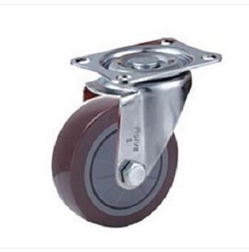 浙江轻型单轴承高强度聚氨酯脚轮生产商