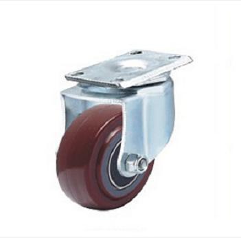 浙江轻型双轴承高强度聚氨酯脚轮生产商