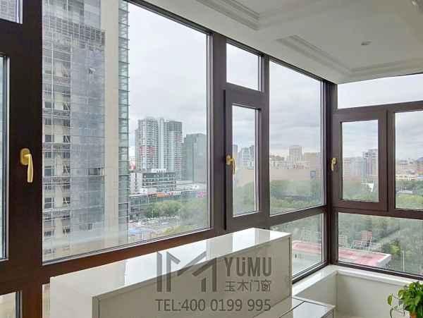 哈尔滨铝包木窗设计