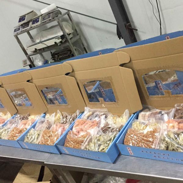 海鲜产品礼盒厂家