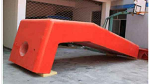 L型固定式FRP防撞设施
