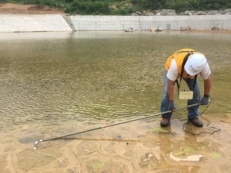 水库坝体渗漏检测