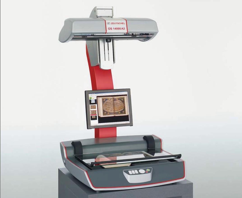 大幅面高精度仿真复制扫描仪