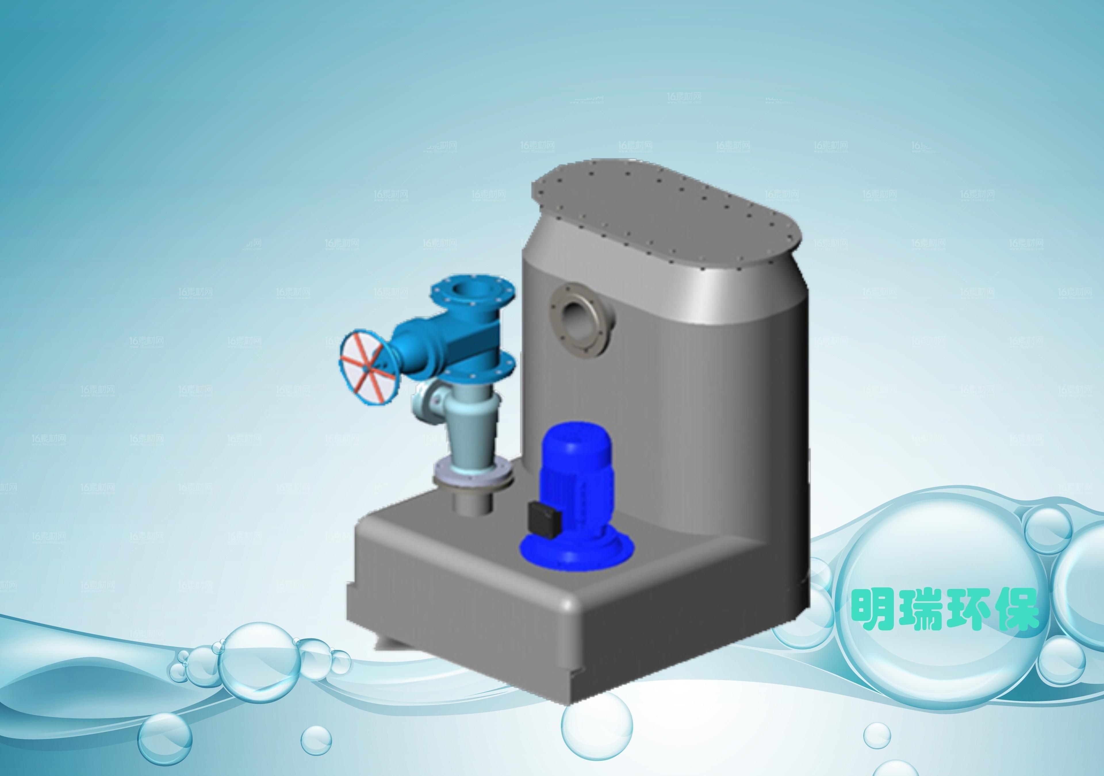 别墅单泵自动化排水设备