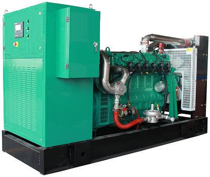 100kw斯太尔天然气发电机组