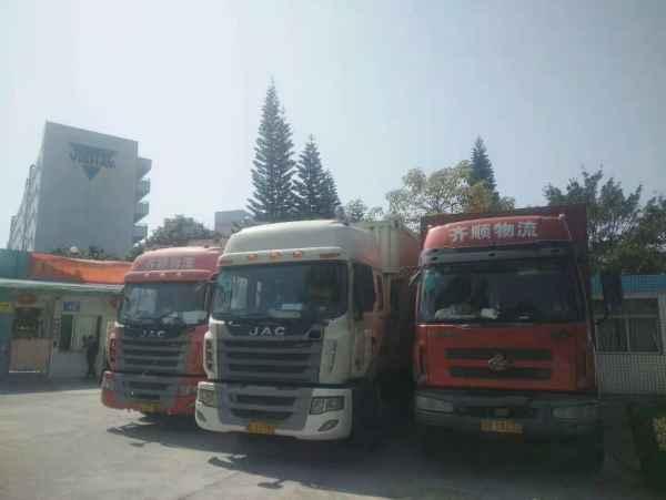 惠阳区货车出租箱长4米2,7米6,9米6带尾板