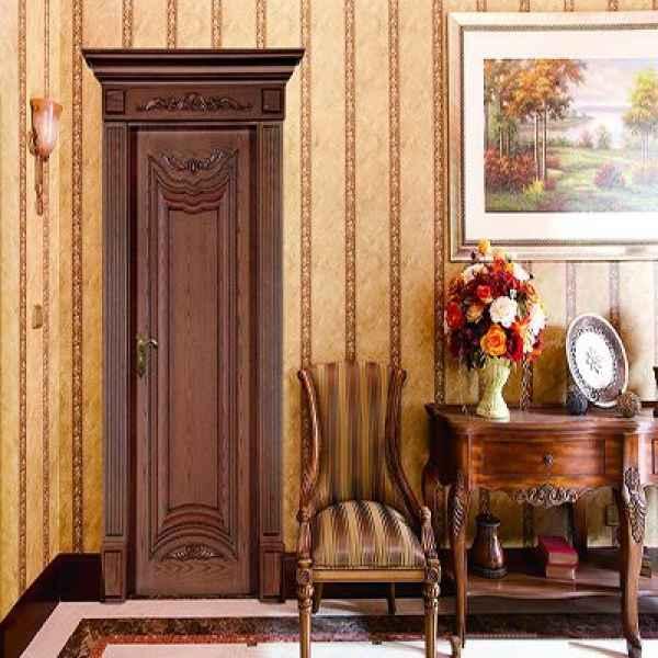 室内环保实木门