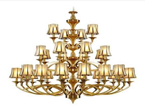 客厅水晶吊灯