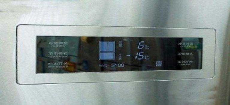 冰箱控制面板玻璃