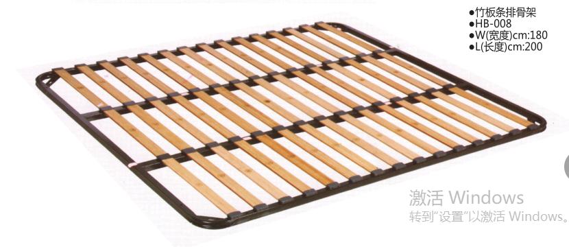 竹板条排骨架